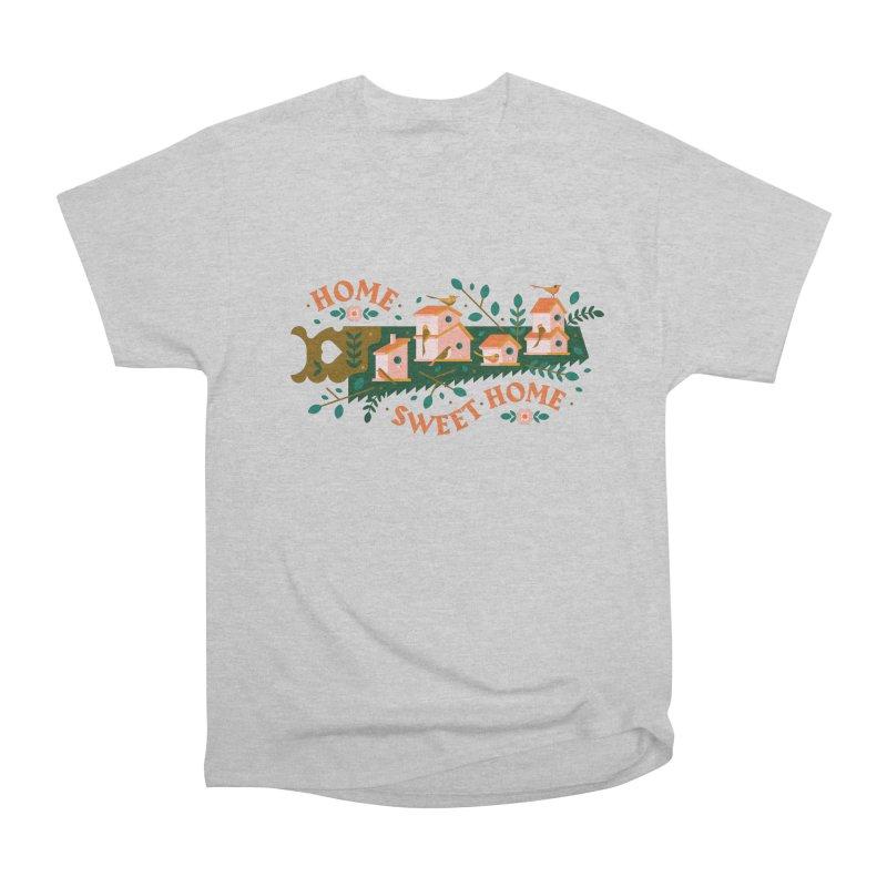 Home Sweet Home Men's Heavyweight T-Shirt by Brian Rau's Artist Shop