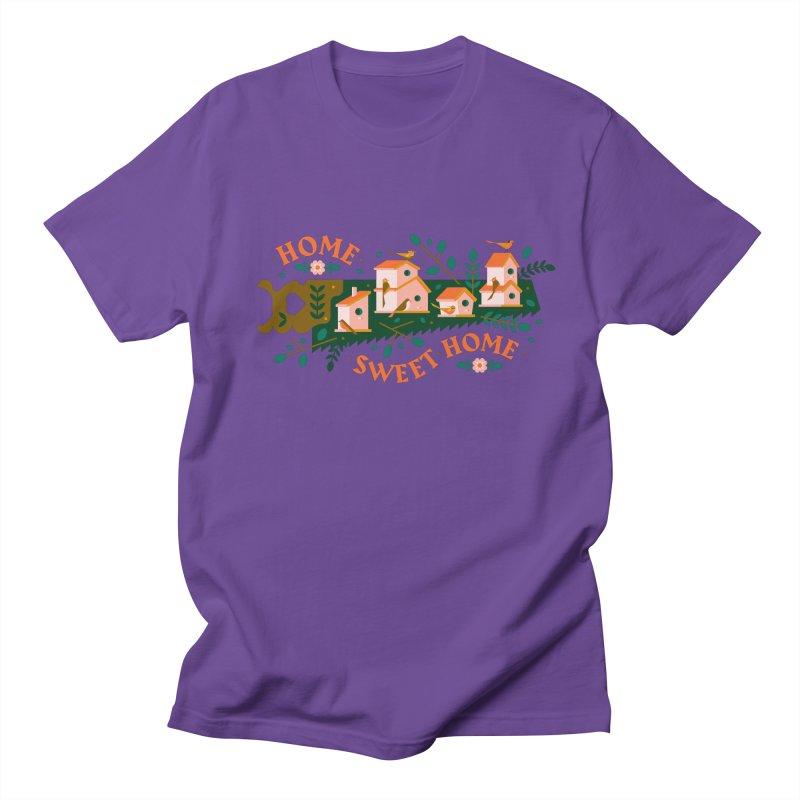 Home Sweet Home Men's Regular T-Shirt by Brian Rau's Artist Shop