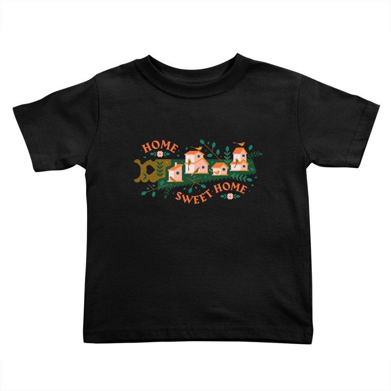Home Sweet Home Kids Toddler T-Shirt by Brian Rau's Artist Shop