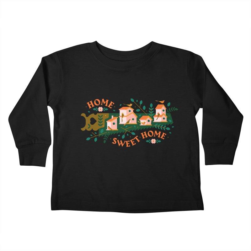 Home Sweet Home Kids Toddler Longsleeve T-Shirt by Brian Rau's Artist Shop
