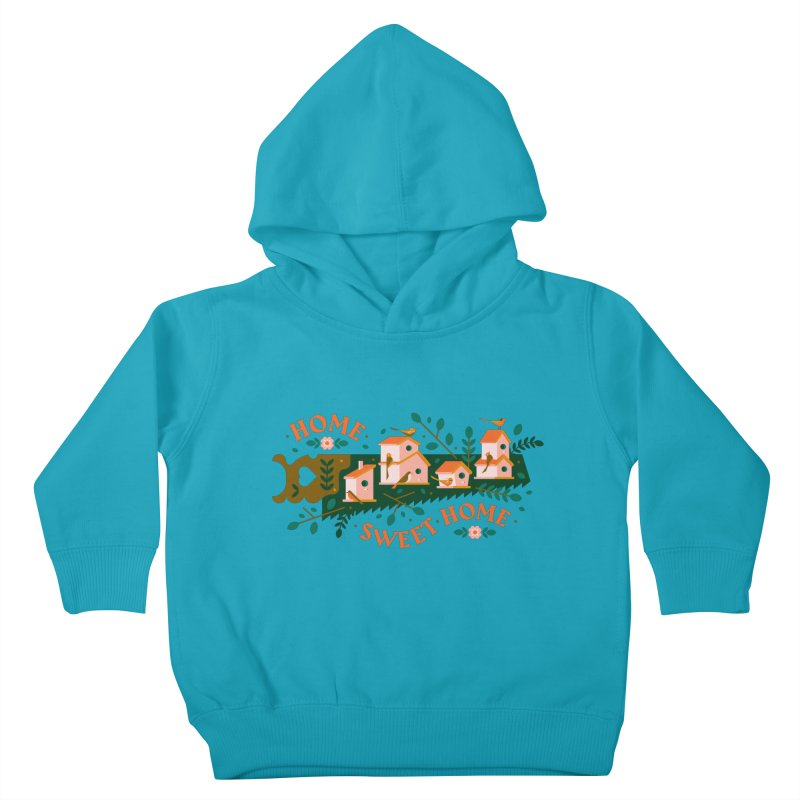 Home Sweet Home Kids Toddler Pullover Hoody by Brian Rau's Artist Shop