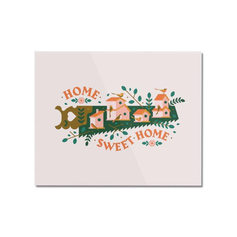 Home Sweet Home Home Mounted Acrylic Print by Brian Rau's Artist Shop