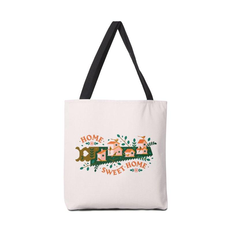 Home Sweet Home Accessories Tote Bag Bag by Brian Rau's Artist Shop