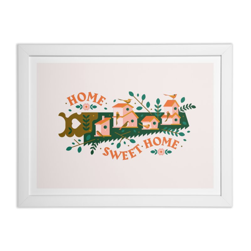 Home Sweet Home Home Framed Fine Art Print by Brian Rau's Artist Shop