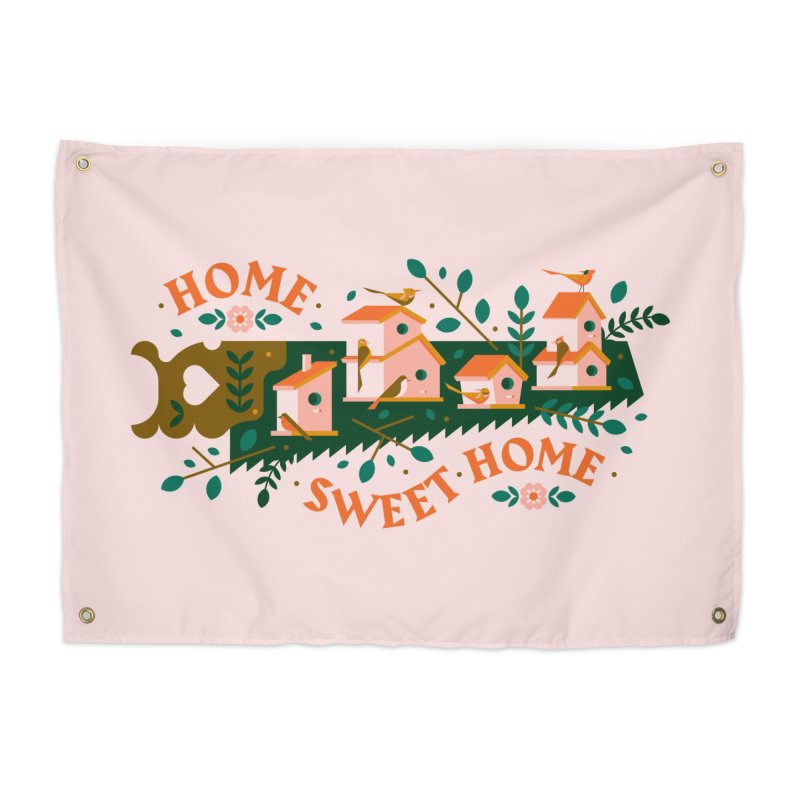 Home Sweet Home Home Tapestry by Brian Rau's Artist Shop