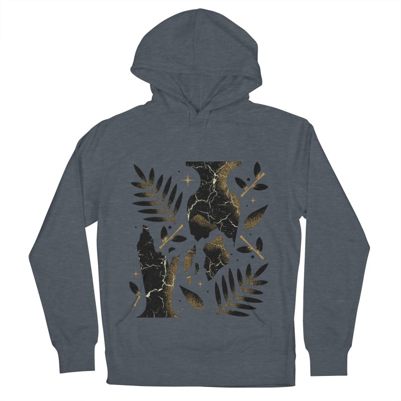 Patience Men's French Terry Pullover Hoody by Brian Rau's Artist Shop