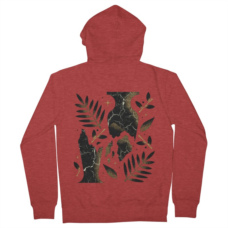 Patience Women's French Terry Zip-Up Hoody by Brian Rau's Artist Shop