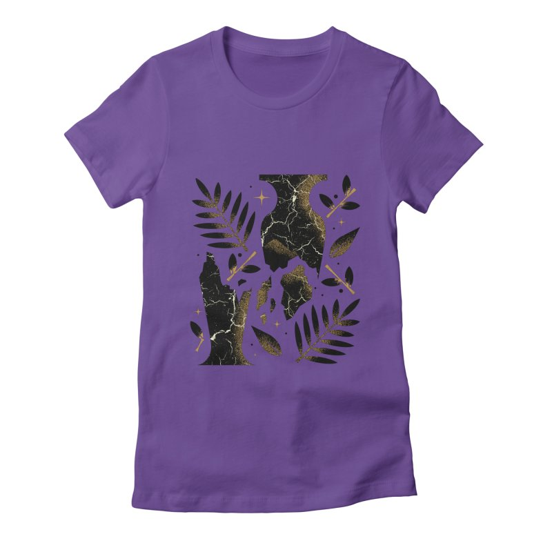 Patience Women's Fitted T-Shirt by Brian Rau's Artist Shop