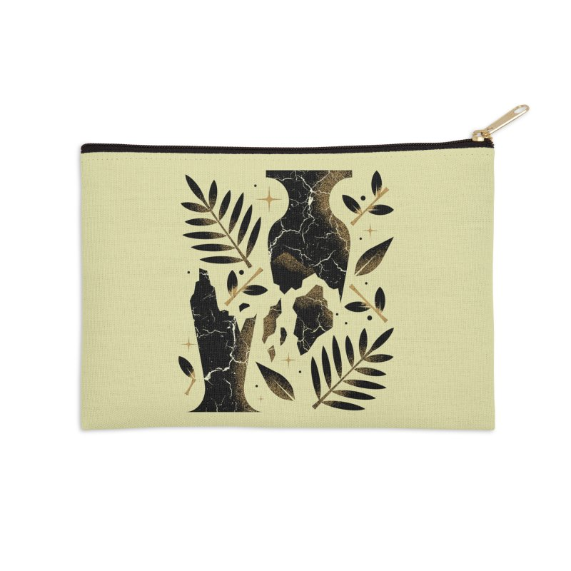 Patience Accessories Zip Pouch by Brian Rau's Artist Shop