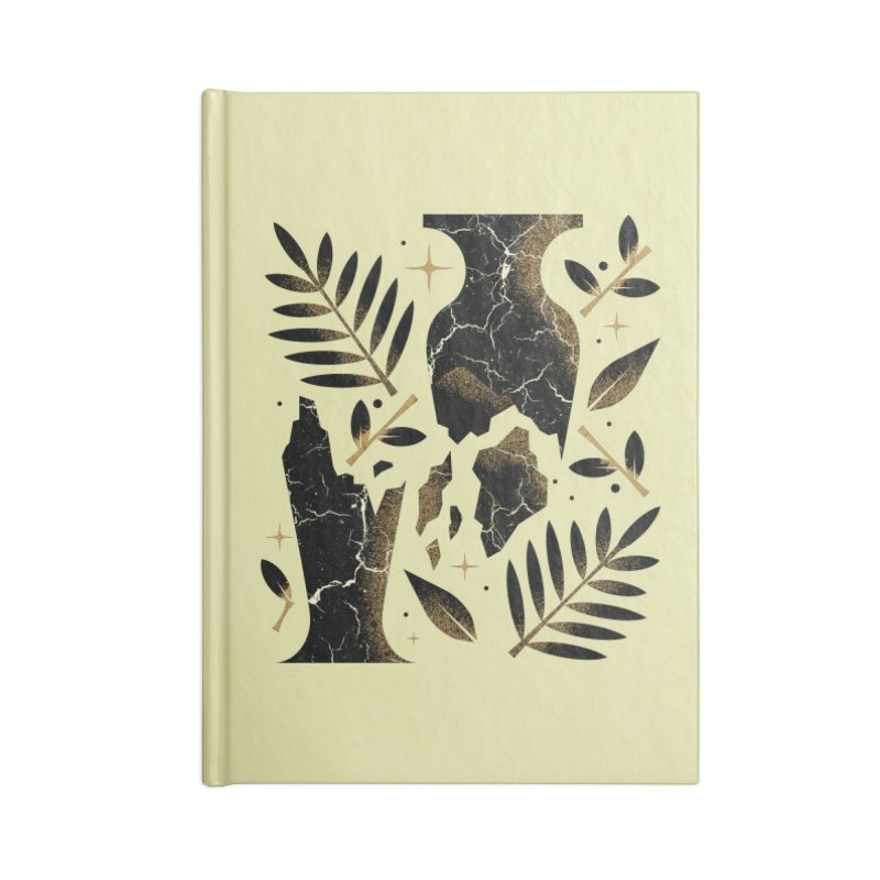 Patience Accessories Blank Journal Notebook by Brian Rau's Artist Shop