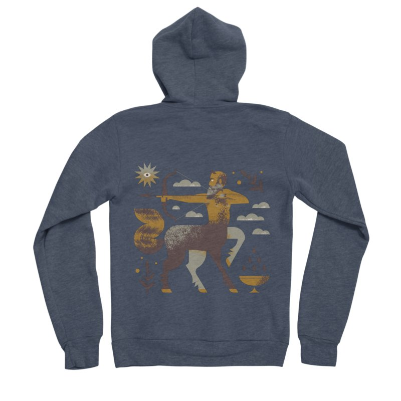 Centaur Women's Sponge Fleece Zip-Up Hoody by Brian Rau's Artist Shop