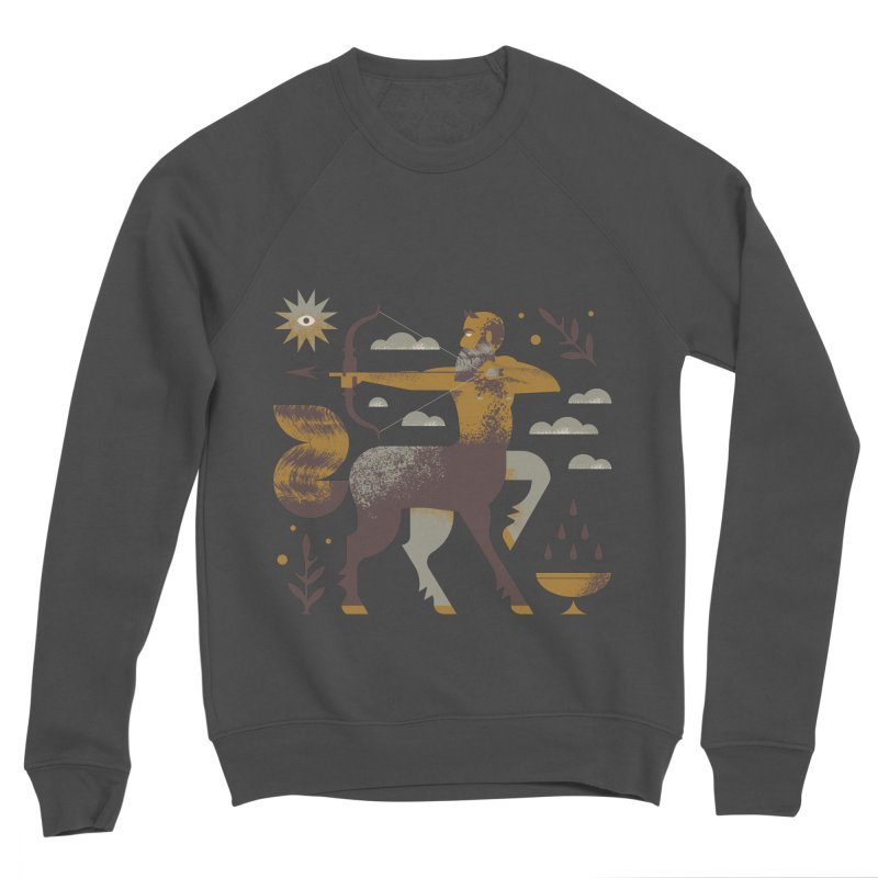 Centaur Women's Sponge Fleece Sweatshirt by Brian Rau's Artist Shop