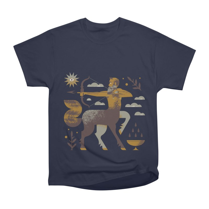 Centaur Men's Heavyweight T-Shirt by Brian Rau's Artist Shop