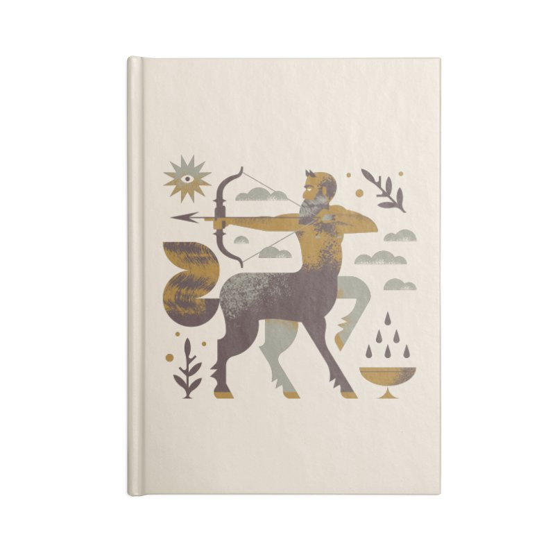 Centaur Accessories Lined Journal Notebook by Brian Rau's Artist Shop