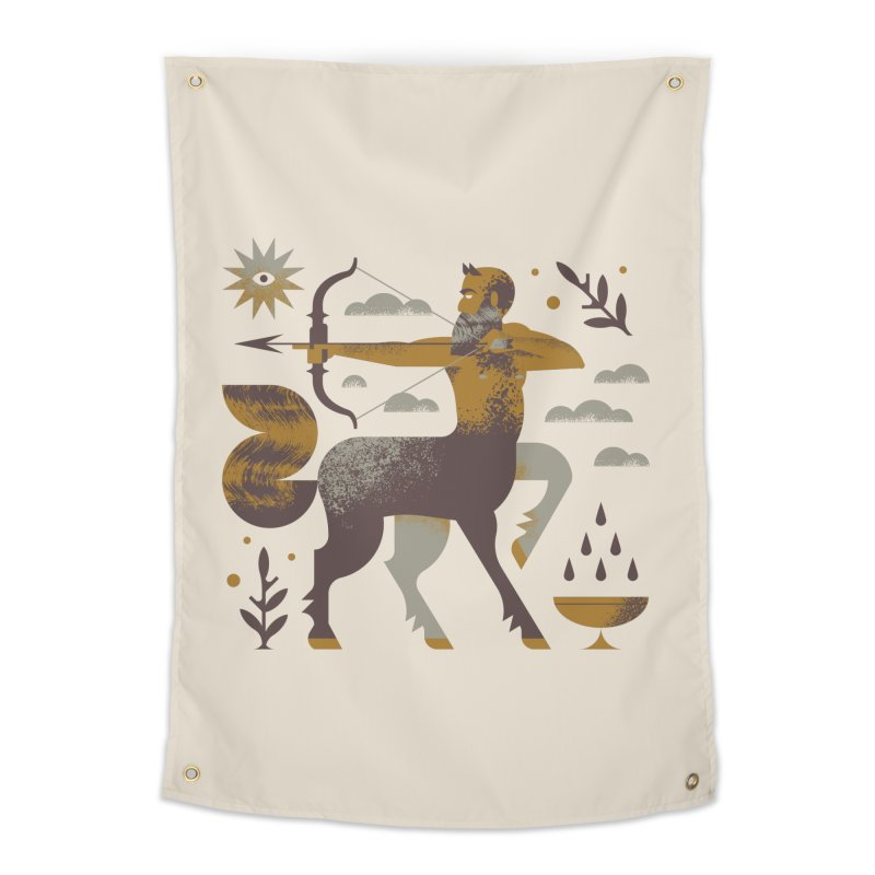Centaur Home Tapestry by Brian Rau's Artist Shop