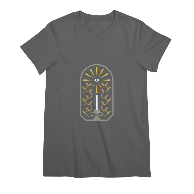 One Night At A Time Women's Premium T-Shirt by Brian Rau's Artist Shop
