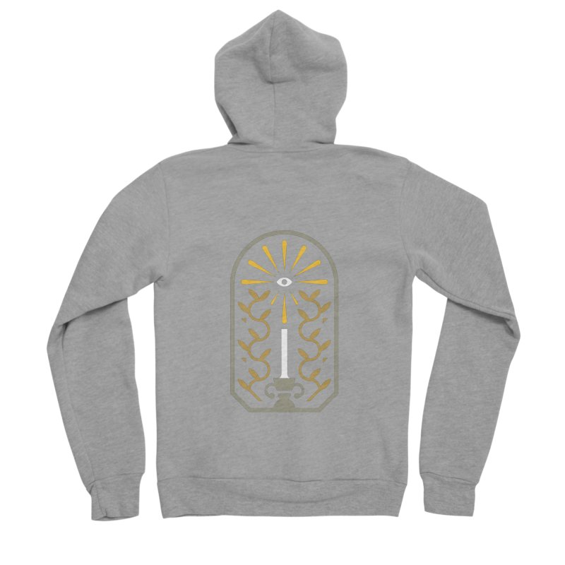 One Night At A Time Men's Sponge Fleece Zip-Up Hoody by Brian Rau's Artist Shop