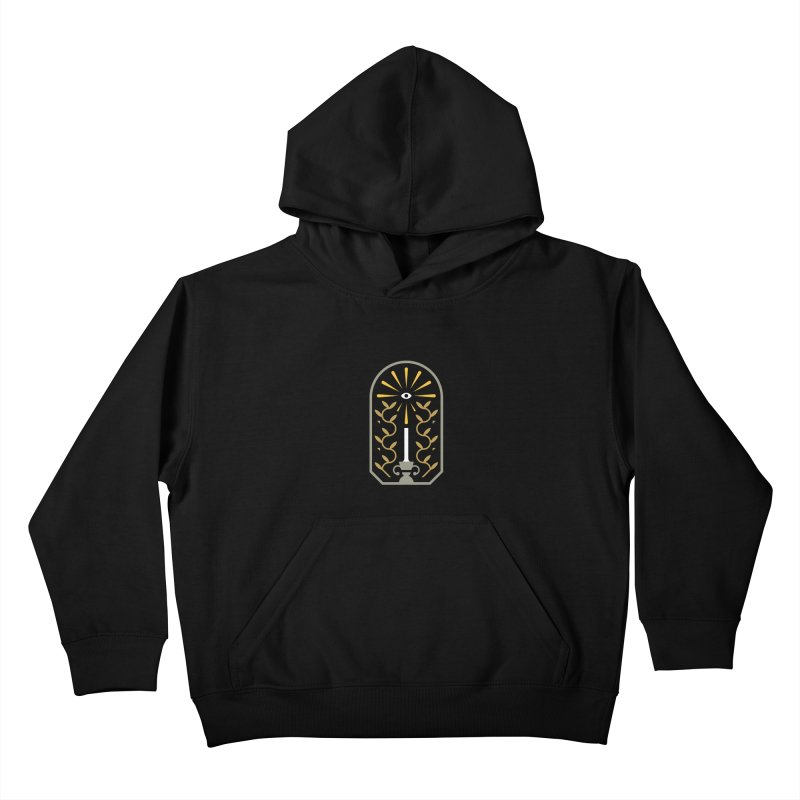 One Night At A Time Kids Pullover Hoody by Brian Rau's Artist Shop