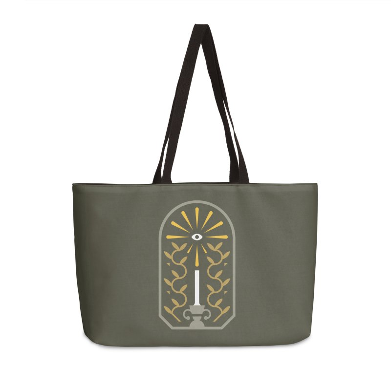 One Night At A Time Accessories Weekender Bag Bag by Brian Rau's Artist Shop
