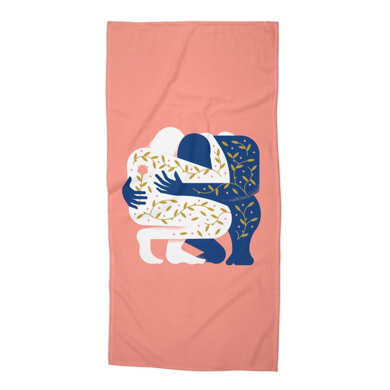 Love Accessories Beach Towel by Brian Rau's Artist Shop