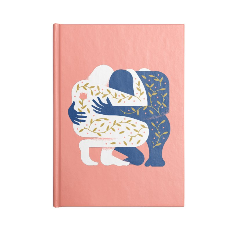 Love Accessories Lined Journal Notebook by Brian Rau's Artist Shop