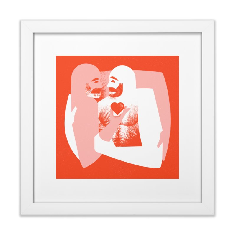 Valentine Home Framed Fine Art Print by Brian Rau's Artist Shop