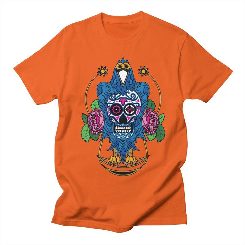 Sugar Raven Skull Women's Regular Unisex T-Shirt by thebraven's Artist Shop