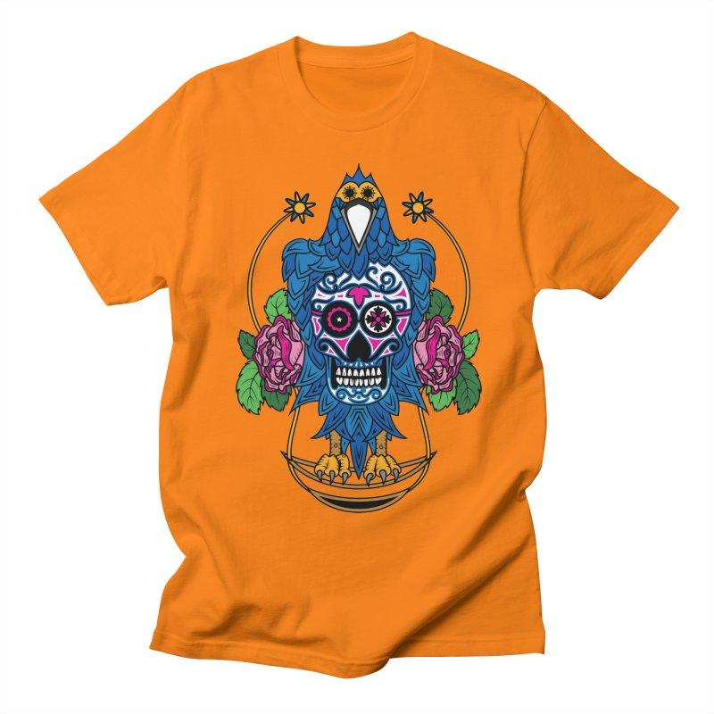 Sugar Raven Skull Women's Unisex T-Shirt by thebraven's Artist Shop