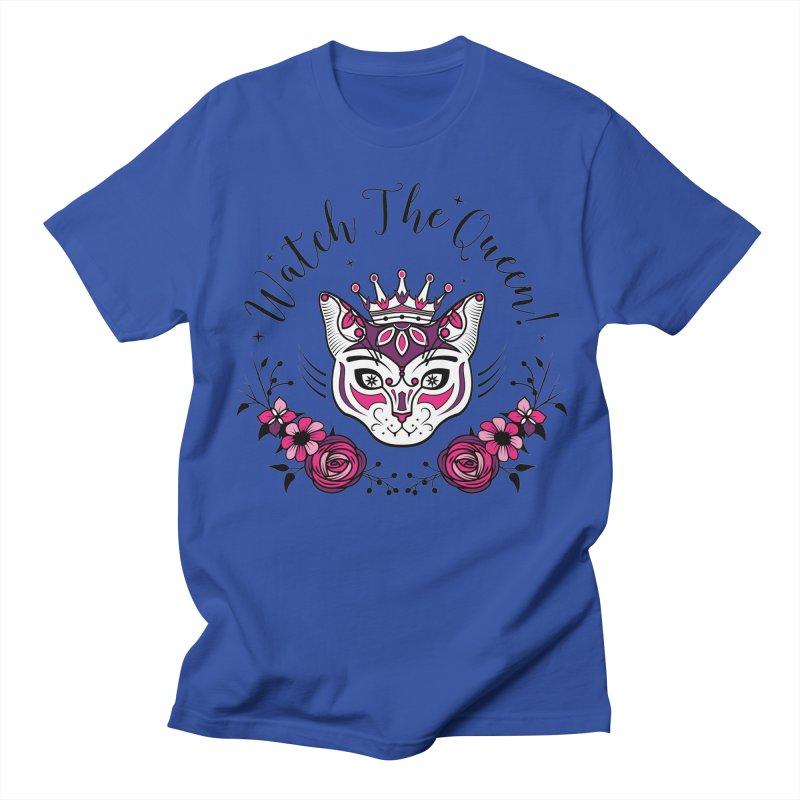 Cat Queen  Women's Unisex T-Shirt by thebraven's Artist Shop