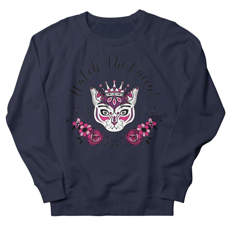 Cat Queen  Women's Sweatshirt by thebraven's Artist Shop