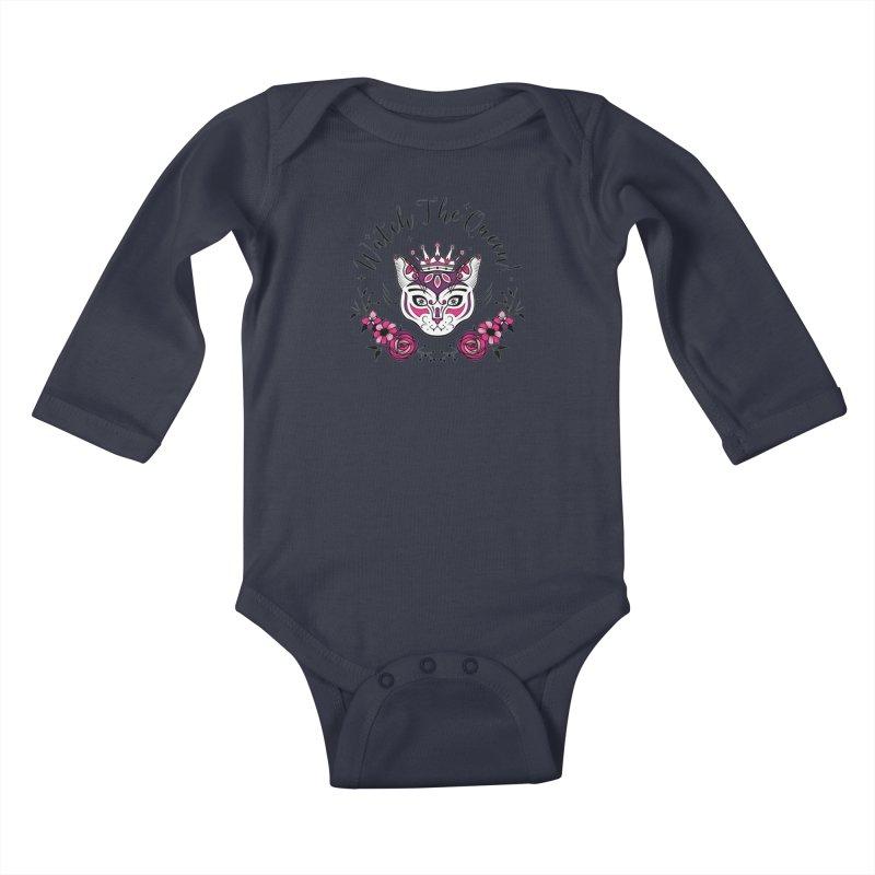 Cat Queen  Kids Baby Longsleeve Bodysuit by thebraven's Artist Shop