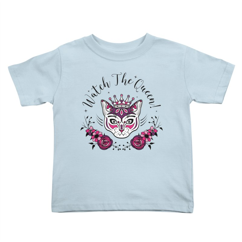 Cat Queen  Kids Toddler T-Shirt by thebraven's Artist Shop