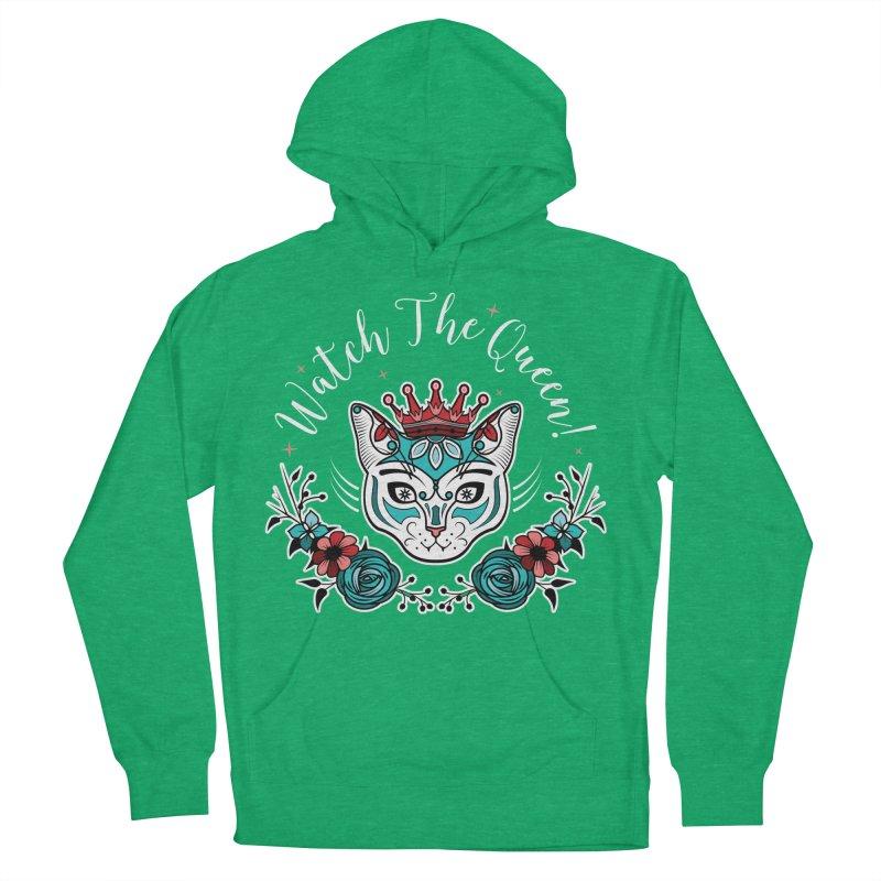 Cat Queen  Women's Pullover Hoody by thebraven's Artist Shop