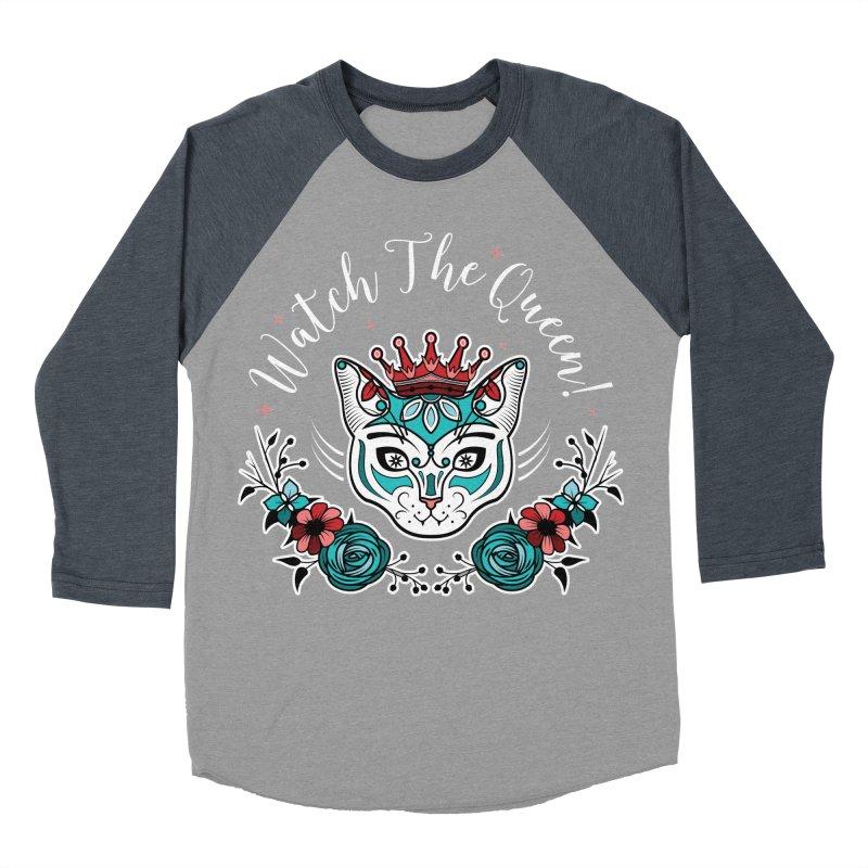Cat Queen  Women's Baseball Triblend T-Shirt by thebraven's Artist Shop