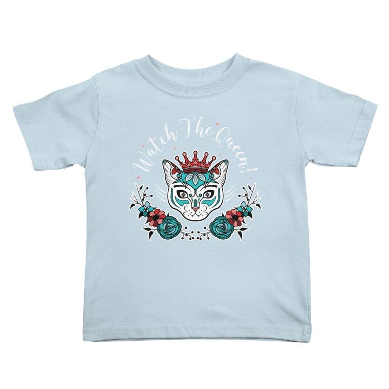Cat Queen  Kids Toddler T-Shirt by thebraven's Artist Shop