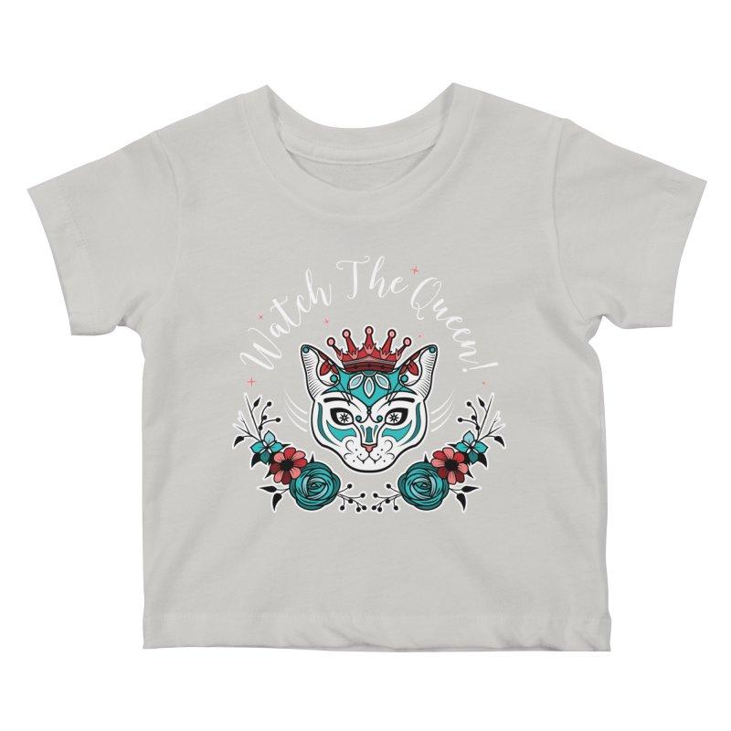 Cat Queen  Kids Baby T-Shirt by thebraven's Artist Shop