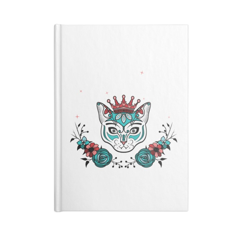 Cat Queen  Accessories Notebook by thebraven's Artist Shop