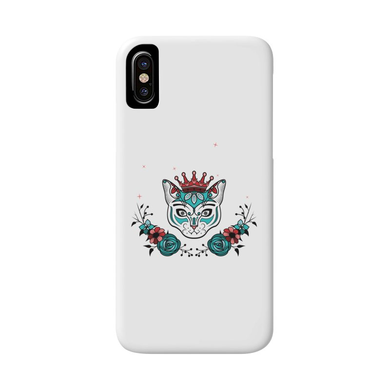 Cat Queen  Accessories Phone Case by thebraven's Artist Shop