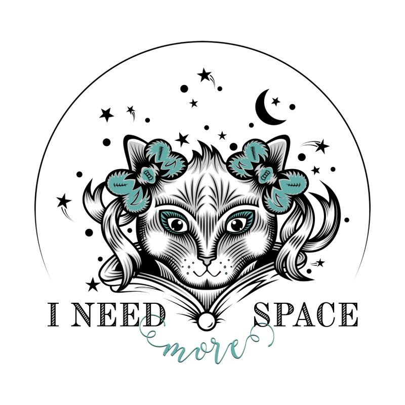 I need (more) space.. Accessories Zip Pouch by thebraven's Artist Shop