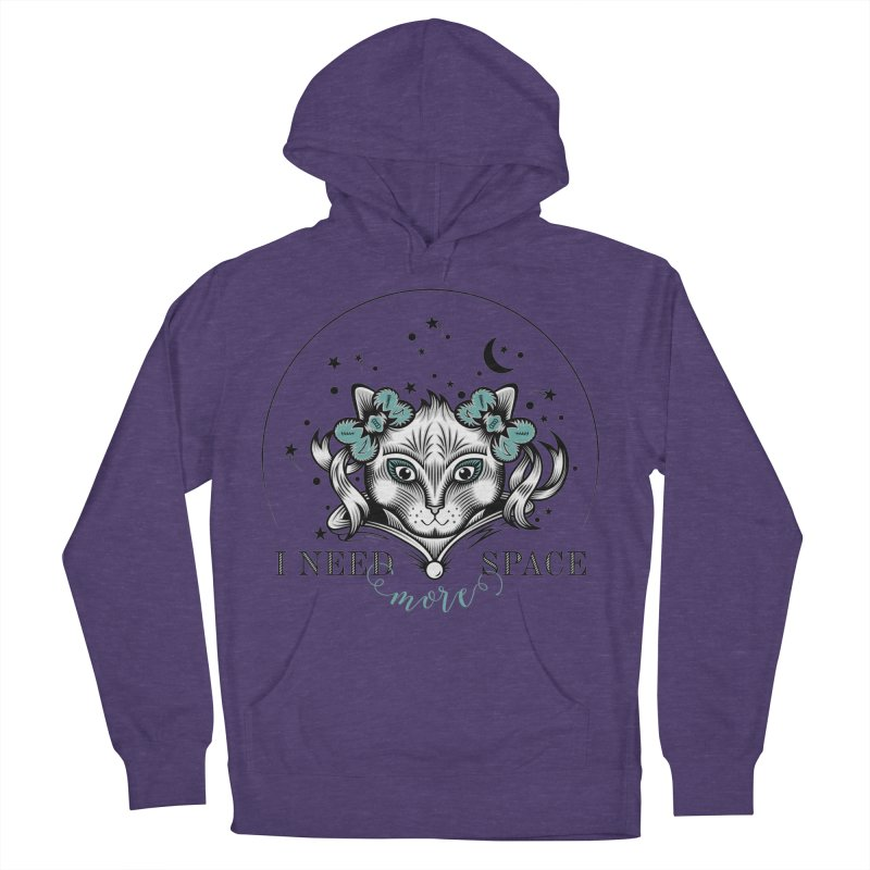 I need (more) space.. Women's Pullover Hoody by thebraven's Artist Shop