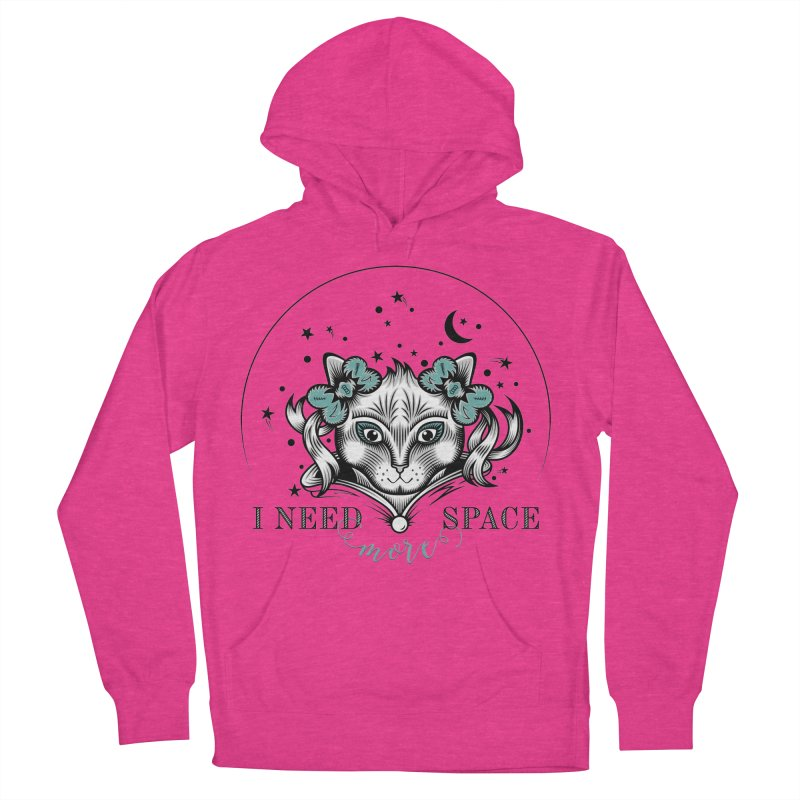 I need (more) space.. Women's French Terry Pullover Hoody by thebraven's Artist Shop
