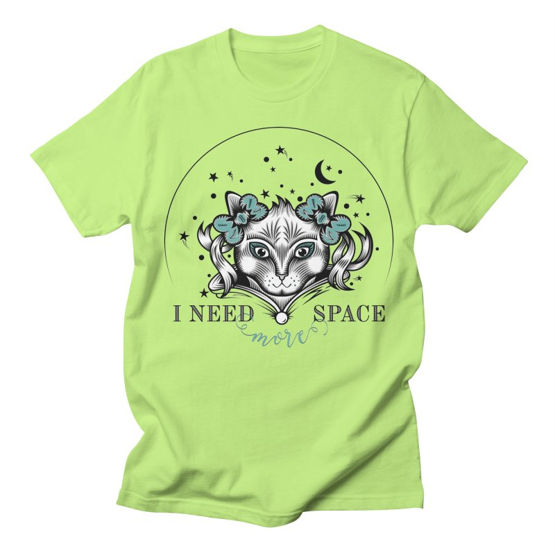 I need (more) space.. Women's Regular Unisex T-Shirt by thebraven's Artist Shop