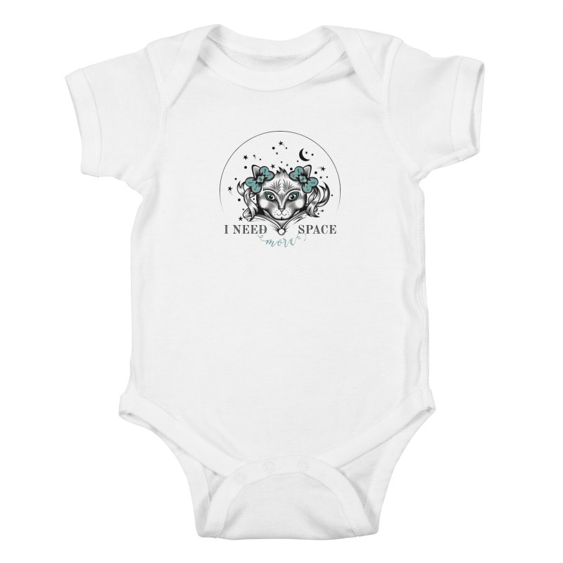 I need (more) space.. Kids Baby Bodysuit by thebraven's Artist Shop