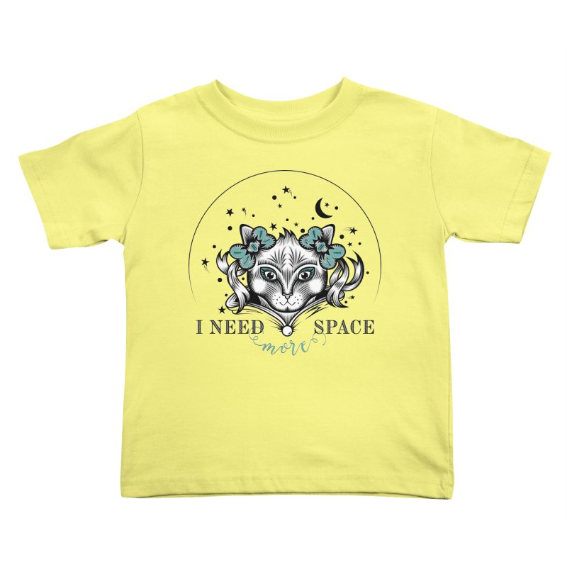 I need (more) space.. Kids Toddler T-Shirt by thebraven's Artist Shop