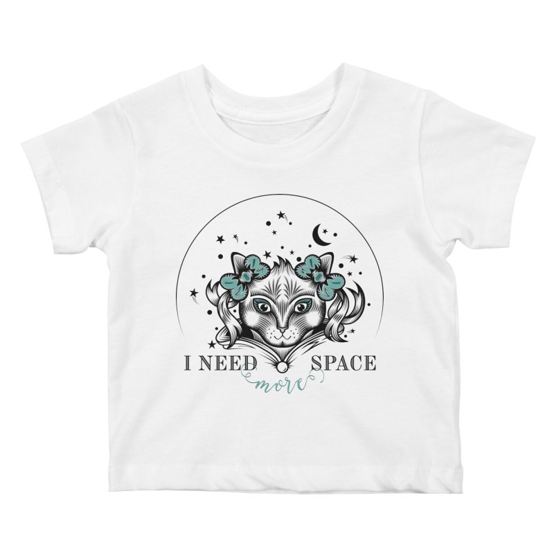 I need (more) space.. Kids Baby T-Shirt by thebraven's Artist Shop