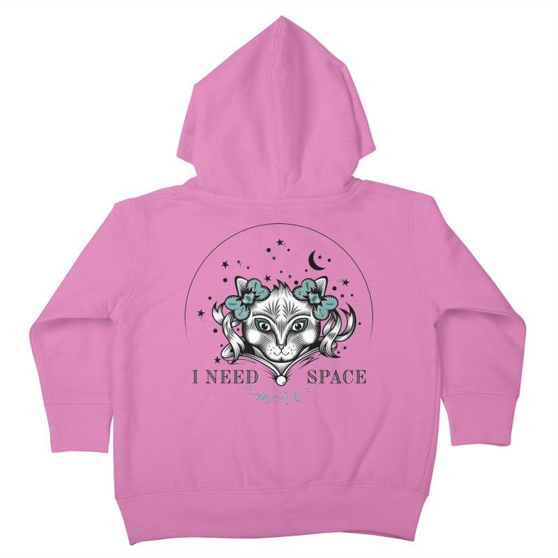I need (more) space.. Kids Toddler Zip-Up Hoody by thebraven's Artist Shop