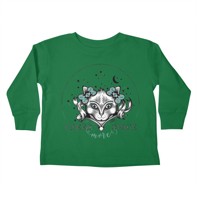 I need (more) space.. Kids Toddler Longsleeve T-Shirt by thebraven's Artist Shop