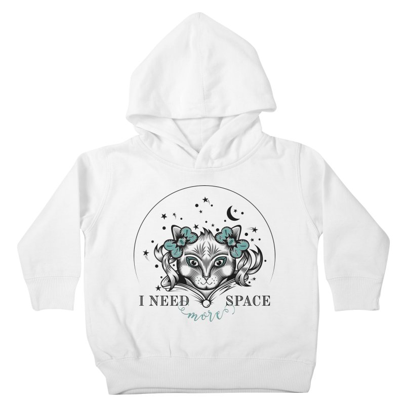 I need (more) space.. Kids Toddler Pullover Hoody by thebraven's Artist Shop