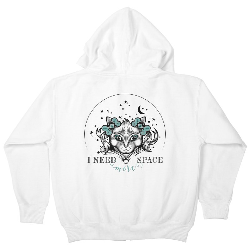 I need (more) space.. Kids Zip-Up Hoody by thebraven's Artist Shop