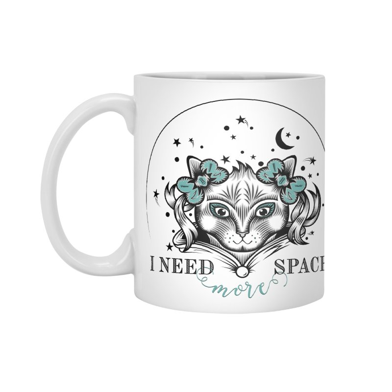 I need (more) space.. Accessories Mug by thebraven's Artist Shop